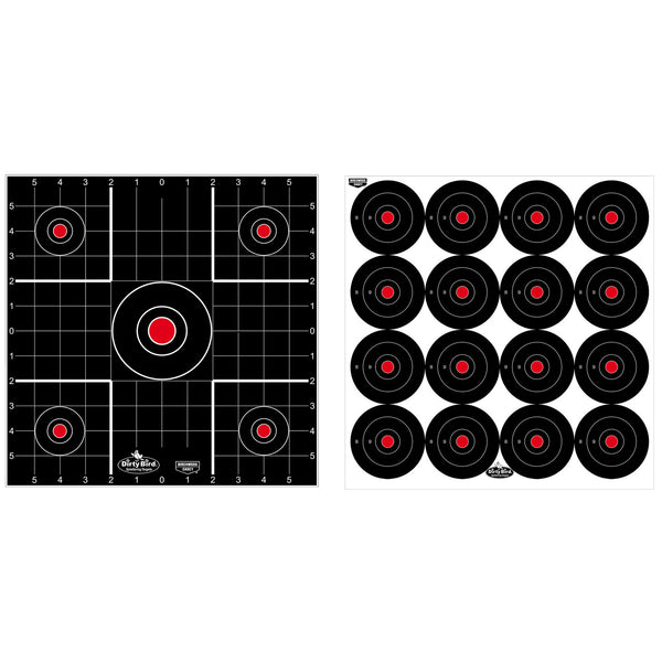 B-c Dirty Bird Combo Targets 12pk