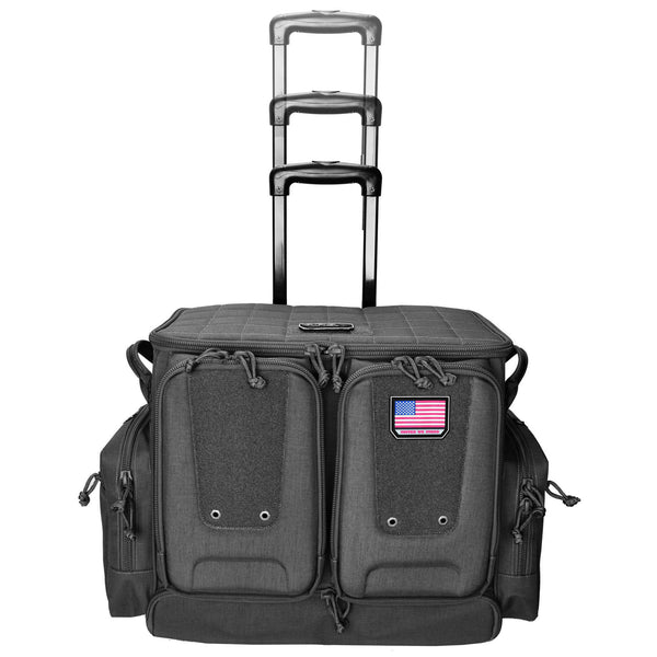 G-outdrs Tac Rolling Range Bag Black