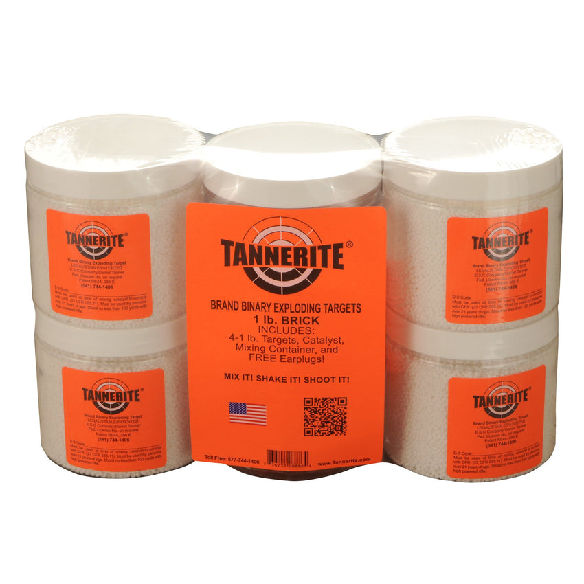 Tannerite Brick 1lb 4 Pack Targets