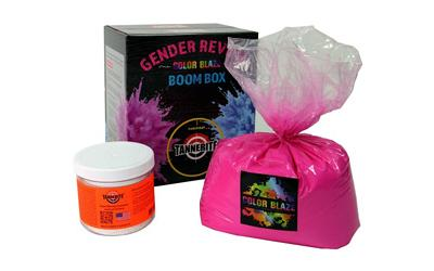 Tannerite Gender Reveal Pink Baby Girl
