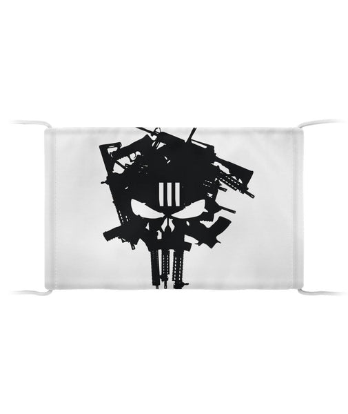 Punisher Skull Guns Cloth Face Mask