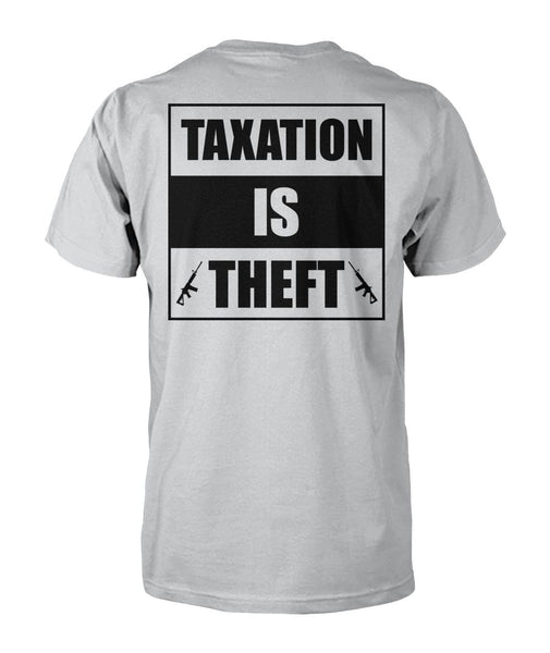 Black Rifle Company/ Taxation Is Theft (Image On Back)