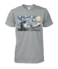 "Warry Nights In Honor of ""Starry Nights"" T-shirt 