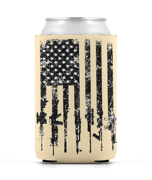 Rifle Family Beer Koozie