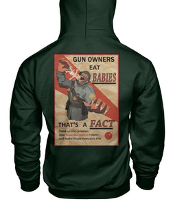 Gun Owners Eat Babies- Black Rifle Co Hoodie