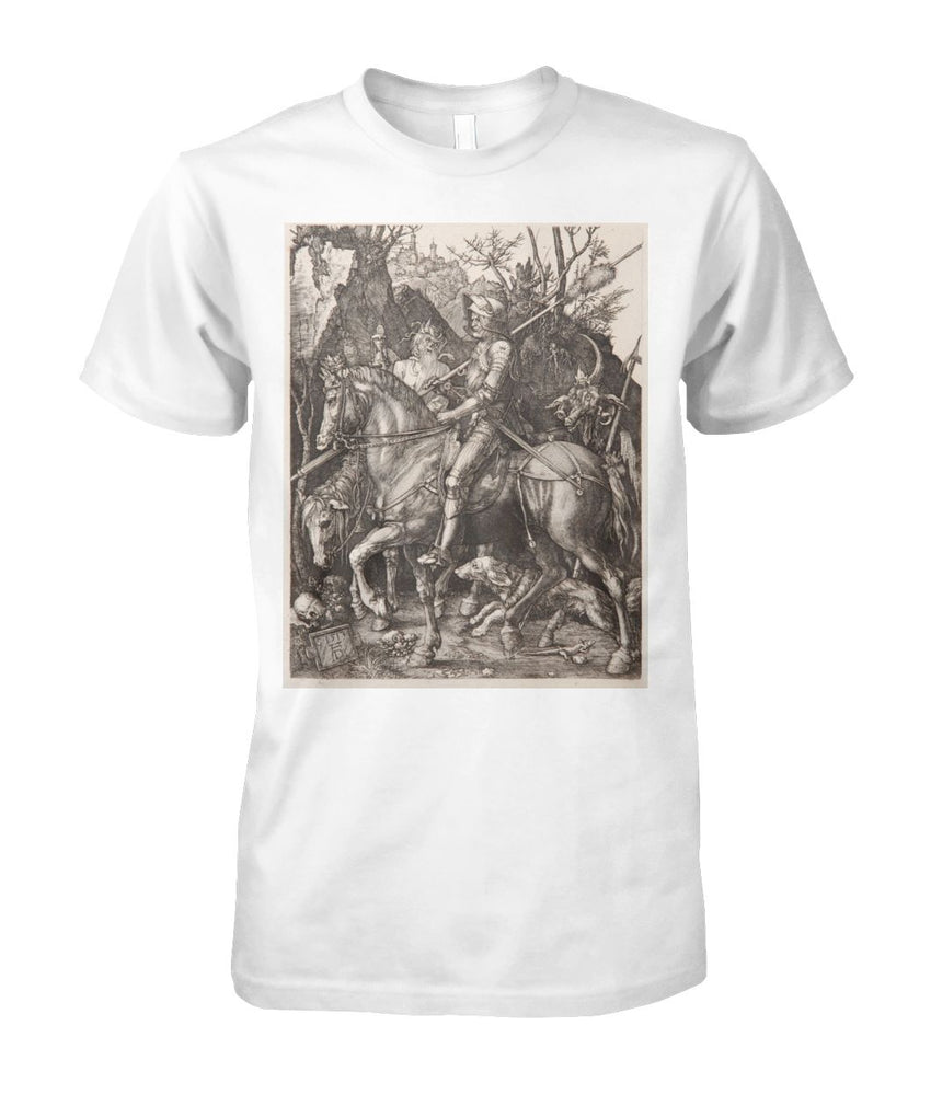 Knight, Death and the Devil by Albrecht Dürer Art Tee
