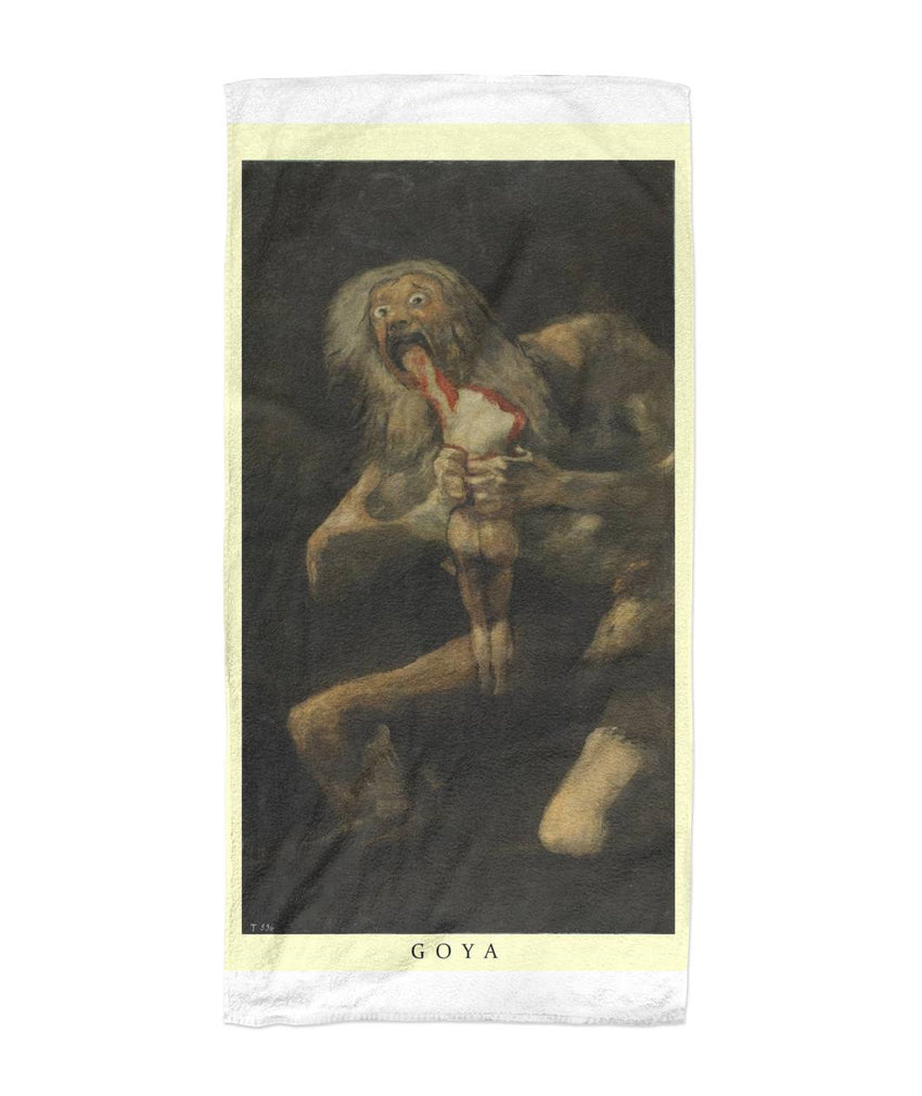 Saturn - Goya Art Towel Beach Towel 30x60