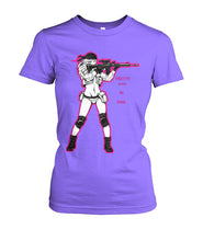 Load image into Gallery viewer, Pretty Lethal in Pink Tee - Women