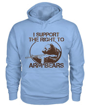 Load image into Gallery viewer, I Support the Right To Arm Bears Hoodie
