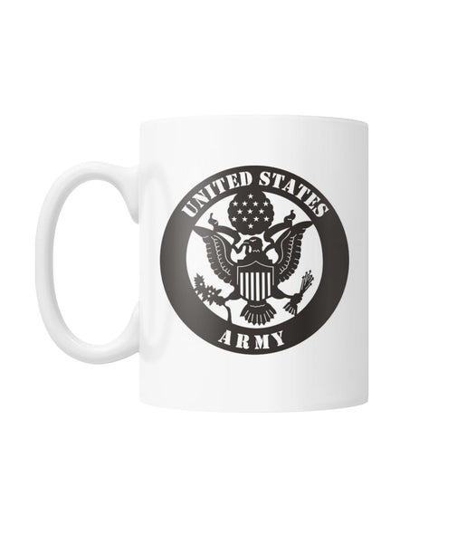 Army Mom Coffee Mug White Coffee Mug