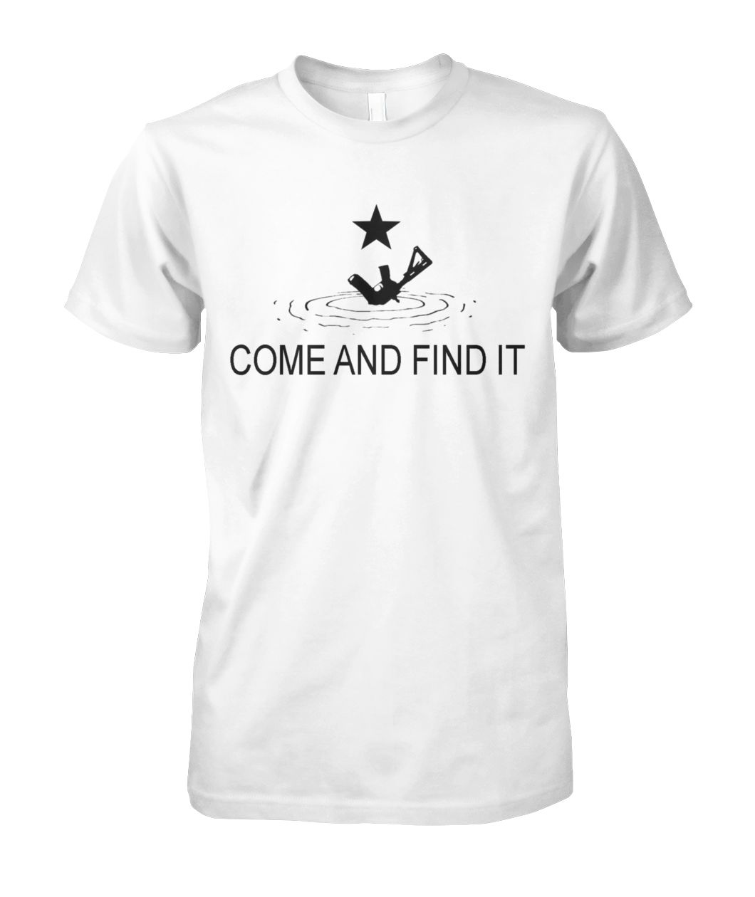Come and Find It Tee - A Tragic Boating Accident