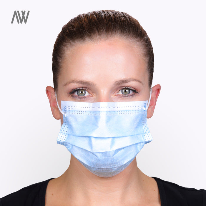 Type IIR Surgical Face Mask - WHOLESALE PRICING | AWD Protective Gear