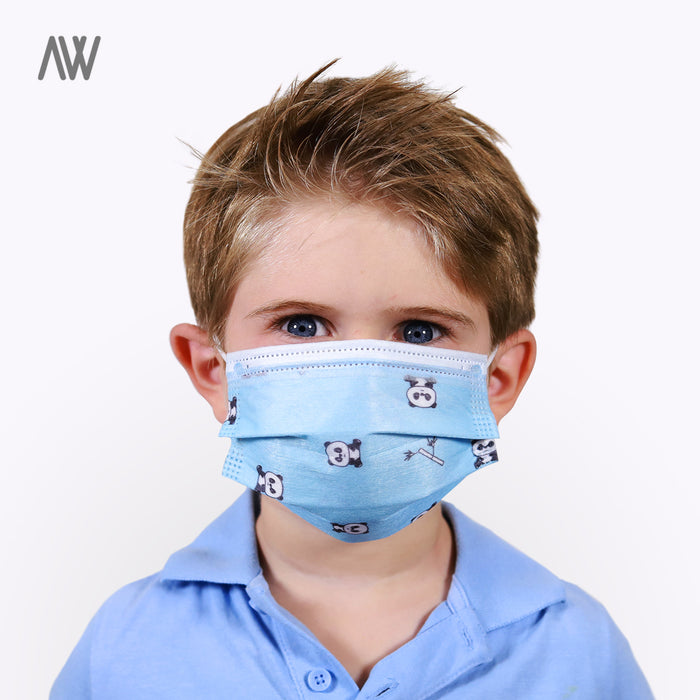 Kids Disposable Masks - WHOLESALE PRICING | AWD Protective Gear