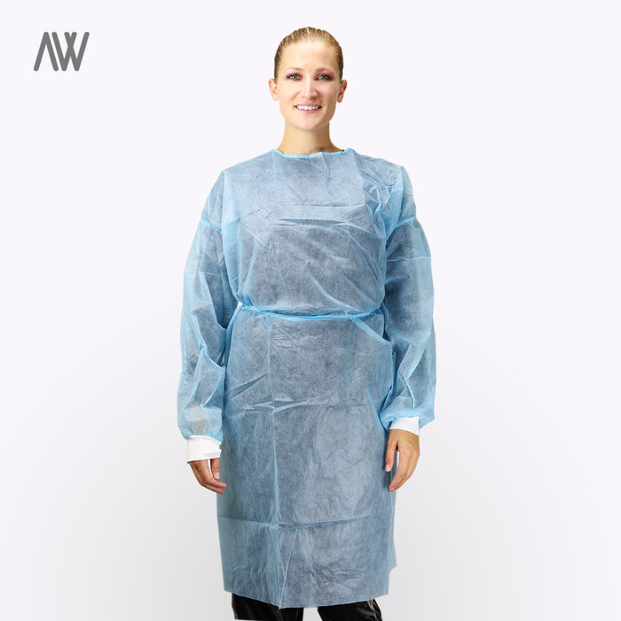 Level Two Nonsurgical Isolation Gowns - WHOLESALE PRICING | AWD Protective Gear