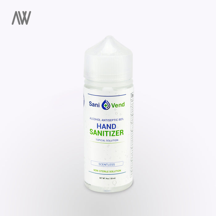 Hand Sanitizer 4oz - WHOLESALE PRICING | AWD Protective Gear