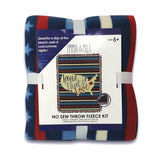 EMMA & MILA - Land I Love - No Sew Throw - Fleece- Multi