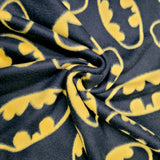 DC Comics Batman Logo 100% Polyester Fleece Fabric