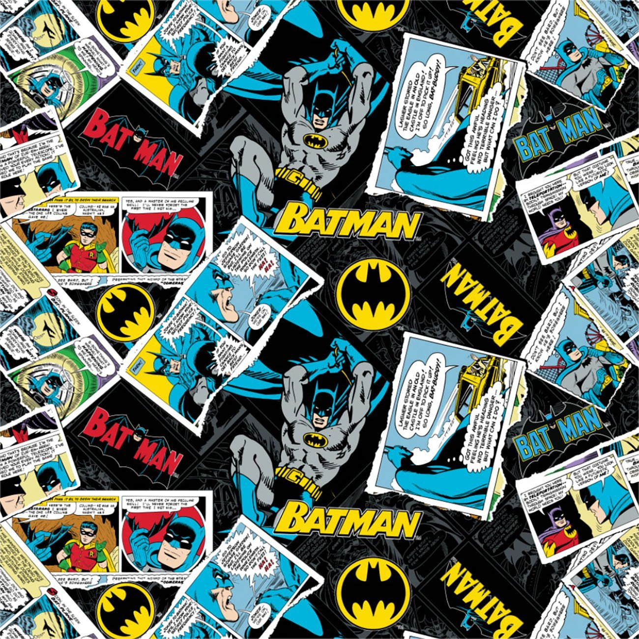 Batman 80 Anniversary Collection - Collage - Black
