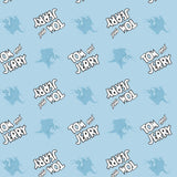 Tom & Jerry - Cute & Cranky Collection - Logo Editorial - Blue