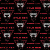 Star Wars - Supreme Leader Kylo Ren- Printed Fleece by Lucasfilm Star Wars