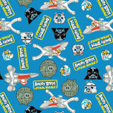 Angry Birds Star Wars Character Toss - Printed Flannel by Lucasfilm Star Wars