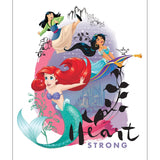 Disney Princess Heart Strong Collection - Heart Strong Panel - Multi