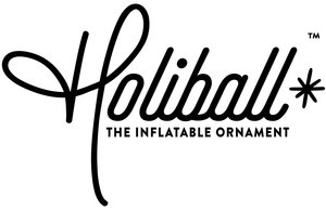 Holiball - The inflatable indoor/outdoor Christmas ornament
