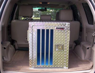 Image of Hunter Series Single Compartment Dog Box - Standard Vents w/o Storage - DOGSWAGI