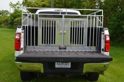 Image of Over the Rail Series FULL BED 5.5 feet with Crossover Storage - DOGSWAGI