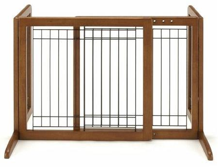 Bay Isle Freestanding Pet Gate - DOGSWAGI