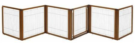 6 Panel Convertible Elite Pet Gate - DOGSWAGI
