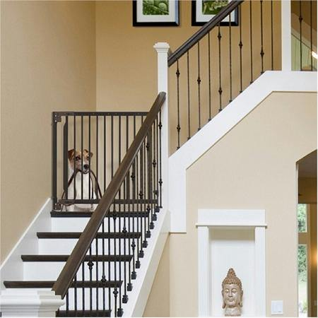 Expandable Walk Thru Pet Gate - DOGSWAGI
