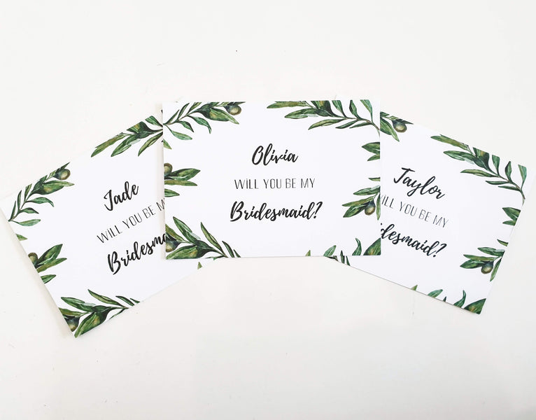 Will You Be My Bridesmaids Cards