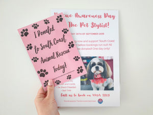 South Coast Animal Rescue Fundraiser!