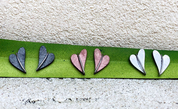Veto Jewelry Heart Studs