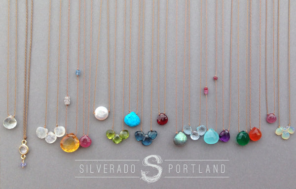 Soul Silk Necklaces at Silverado Portland