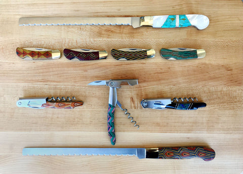 Santa Fe Stoneworks Knives and openers