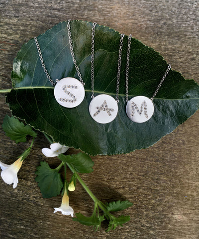 Chan Luu Initial Necklaces