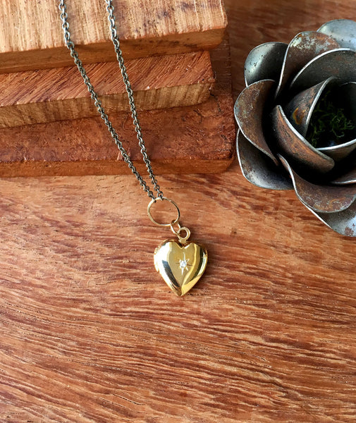 Zoe Chicco Heart Locket