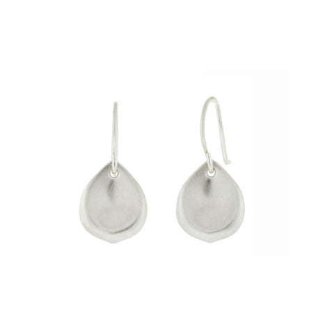 Sterling Silver Petal Earrings