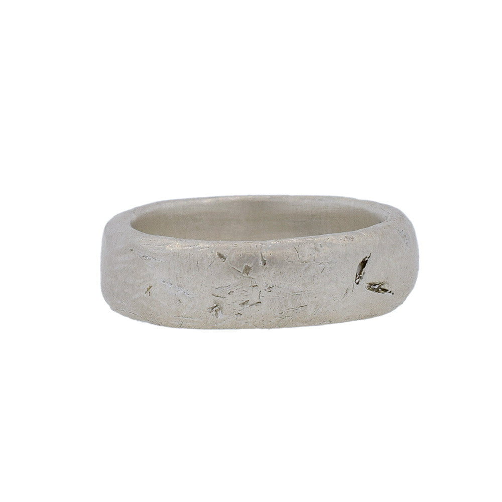 Men's Worn Ring in Sterling Silver