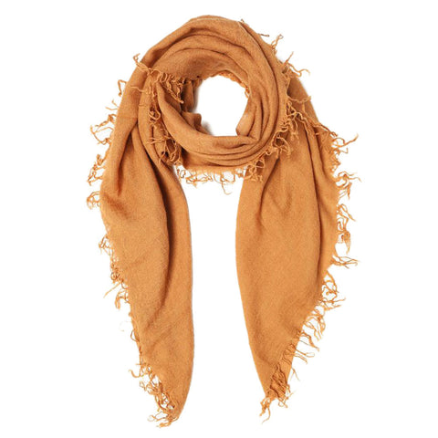 Brown Sugar Silk & Cashmere Scarf