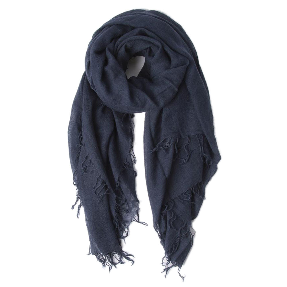 Total Eclipse Silk & Cashmere Scarf