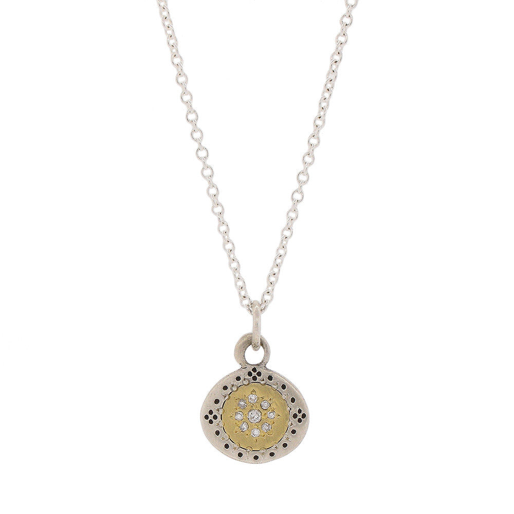 Adel Chefridi Diamond Seeds of Harmony Necklace