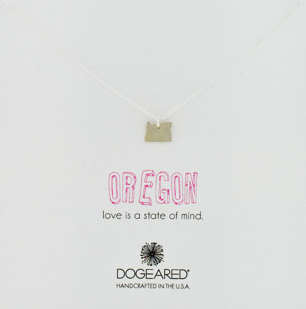Oregon Necklace in Sterling Silver