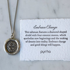Embrace Change Talisman Necklace