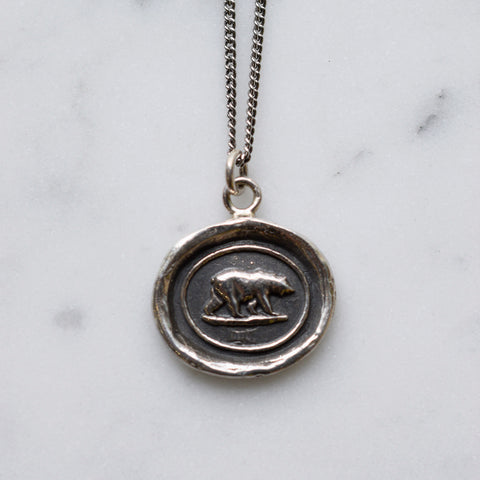Mother Bear Talisman Necklace