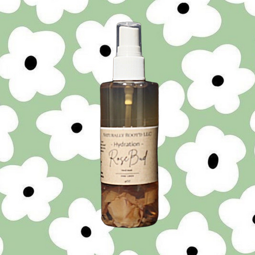 Rose Bud Hand Infused Mist - Naturally Rootd
