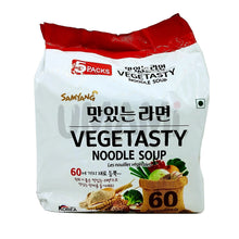 Load image into Gallery viewer, Samyang Vegetasty Multi 115g x 5