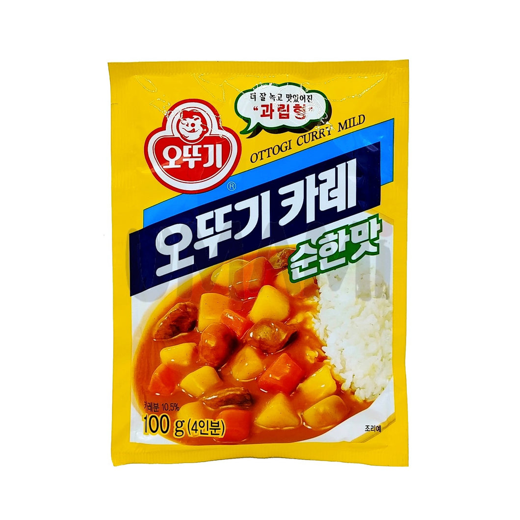 Ottogi Curry Pulver Mild 100g